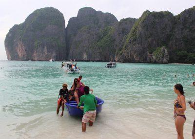 Thailand Koh Phi Phi Maya Bay 2015